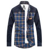 Camicia di vestito alla moda da nuova del Mens misura sottile di modo