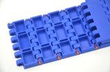 Plastic Modulaire Transportband Qnb Met platte kop voor Verpakking Cartom