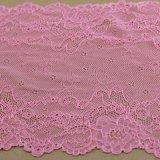 Women DressおよびClothingのための伸張Jacquard Crochet Lace Trims