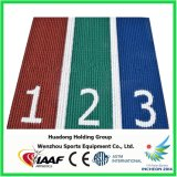 IAAF impermeable pista de goma sintética para la carrera de atletismo
