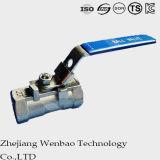 Type robinet de TNP Guang à tournant sphérique de flottement d'acier du carbone de Monolock
