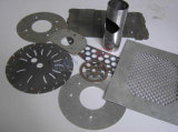 Machine de découpage de laser de fibre de haute précision pour l'acier 1000W inoxidable/carbone