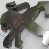 Cortadora del laser de la fibra para el acero inoxidable del acero de carbón con fuente de laser de Ipg