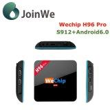 H96 PRO caixa 2GB 16GB 4k da tevê do Android 6.0