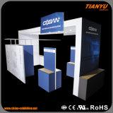 Cabine feita sob encomenda relativa à promoção da feira profissional para a exposição