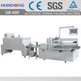 Польностью близкое автоматическое бортовое запечатывание и застенчивый машина упаковки