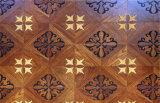 Suelo Art ambiental de múltiples capas de parquet de madera