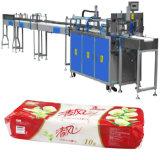 Machine de empaquetage de presse de tissu de salle de bains