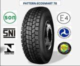 Tous les pneus radiaux en acier de camion et de bus avec le certificat 315/80r22.5 (ECOSMART 62 ECOSMART 78 ECOSMART 79 ECOSMART 81) de CEE