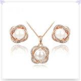 De Reeksen van de Juwelen van de Legering van de Toebehoren van de Manier van de Juwelen van het kristal (AJS115)
