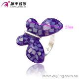 Кольцо ювелирных изделий женщин Betterfly родия Xuping горячее продавая чувствительное имитационное в медном сплаве (13123)