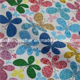 꽃 패턴 가구를 위한 인공적인 PVC 가죽