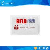 Протектор RFID кредитной карточки преграждая карточку