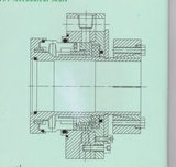 Selo mecânico do cartucho para a bomba da pasta (HT1)