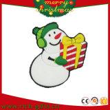 Kerstmis mept Magneten van de Koelkast van pvc de Zachte Rubber (rc-CR03)
