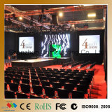 Visualizzazione di LED dell'interno P3.125 di RGB HD dell'affitto della priorità bassa di fase video