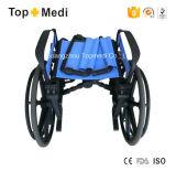 Sillón de ruedas manual plástico orgánico de resonancia magnética del hospital de Topmedi