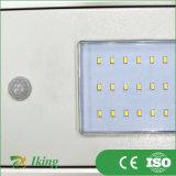 10W Integrated todo em uma luz elevada do mastro da rua solar do diodo emissor de luz