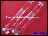 Botella de cristal de cuarzo de la silicona fundida clara más vendida