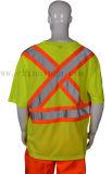 Salut T-shirt r3fléchissant de sûreté de force