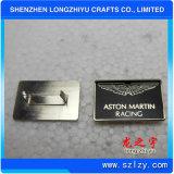 Il contrassegno di alluminio personalizzato del metallo ha inciso i contrassegni del metallo