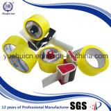con la cinta adhesiva clara amarillenta resistente del código del HS