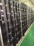 P3.91屋内LEDのスクリーンはとの鋳造物のAlumiumの前部サービス・キャビネットを停止する