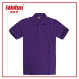 高品質人へのカラーが付いている安く完全なプリントポロのTシャツ