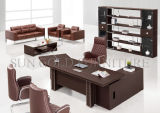 Mesa executiva da L-Forma de madeira barata da tabela da mobília para o uso do escritório (SZ-ODT623)