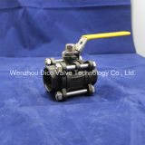 Carbonio Steel 3PC Ball Valve