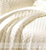 Fundamento de seda do jacquard luxuoso de seda de Thx ajustado como os presentes de seda