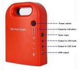 Convertisseur de sauvegarde portatif solaire de bloc d'alimentation du système d'alimentation 25W avec le panneau solaire et la DEL G02