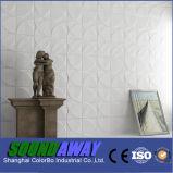 Panneau décoratif de vague de mur d'enduit de conception de mode
