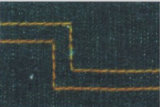 Macchina per cucire dell'ago dell'Doppio-Ago dell'impuntura spaccata della barra con il grande amo