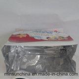 El escudete de la cara del papel de aluminio se levanta el bolso de la bolsa del embalaje de la tuerca