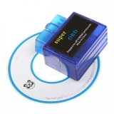 Outil de diagnostique automatique mini Elm327 bleu Bluetooth OBD2 de scanner automatique