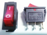 Barco Rocker Switch / interruptor de encendido con el CE para Calentador de Push Button Fan