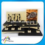 カスタムロゴのハイエンド木製のアクリルの腕時計の陳列台