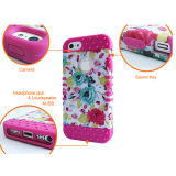 Qualité Durable Series Defendering Dirtproof, Shockproof, Decoration Function Phone Cas pour l'iPhone 6