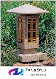 Lanternas cinzeladas ao ar livre japonesas decorativas da pedra do Pagoda para a venda