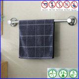 Barre d'essuie-main d'acier inoxydable de crémaillère de salle de bains avec la cuvette d'aspiration