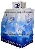 120의 부대 수용량을%s 가진 단 하나 문 주유소 자루에 넣어진 얼음 상인