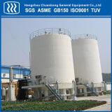 Grand réservoir de stockage de liquide cryogénique de fond plat