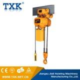 1 Tonnen-hochwertige elektrische Kettenhebevorrichtung mit Laufkatze