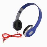 卸し売り多彩なFoldable単独で接続されたヘッドセットのイヤホーンのヘッドホーン