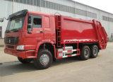15m3タンクサイズの熱い販売HOWOの圧縮された屑ごみ収集車