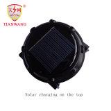 Lanterna solar recarregável com bateria