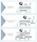 16 interruptor de red del acceso 10/100m Poe con el acceso de 2 gigabites (POE1622SFP-2)