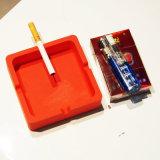 최신 판매 비독성 방수 &Dustproof 사각 실리콘 재떨이