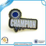 Подгонянный Pin отворотом металла высокого качества логоса компании